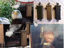 IRON CHEF SMOKERS BBQ SMOKER COLD SMOKE GENERATOR FOR CHEESES FISH MEAT CHARCOAL