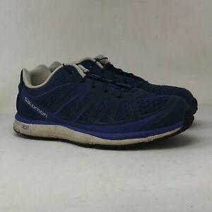 Salomon Womens Kalalau Ortholite 356768 Navy Running Shoes Lace Up Size 7.5