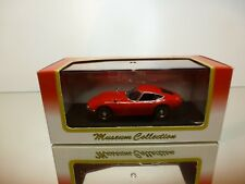 KYOSHO 03031R TOYOTA 2000GT - RED 1:43 - EXCELLENT IN BOX