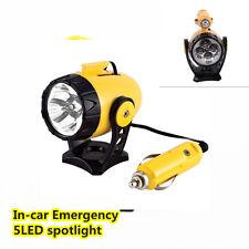 Nuevos 12v 5led coche Magnético Reflector Linterna De Emergencia De Trabajo Lámpara luz de advertencia