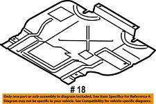 ford oem 15-16 f-150 splash shield-under engine/radiator cover