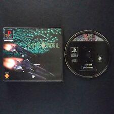 PHILOSOMA PlayStation UK PAL English・♔・BLOCKBUSTER EX RENTAL rare complete PS1