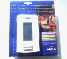 Aube Programmable Thermostat TH110-SP-P-COM Electronic 4800W