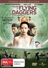The House Of Flying Daggers (DVD, 2006)