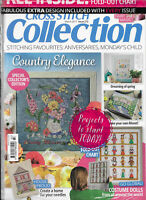 Cross Stitch Collection NIP Sealed Giant Fold Out Chart Special Collectors Ed