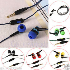 3.5mm Stereo Sports Bass In-Ear Earphone Headphone Headset Earbuds for iPhone AU