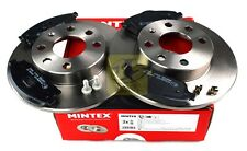 Front Vented Brake Discs Vauxhall Corsa 1.4 16V Hatchback 2000-06 90HP 260mm