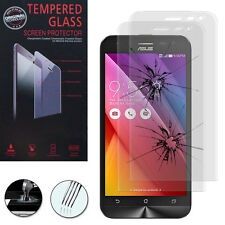 2X Safety Glass for Asus Zenfone 2 Laser Ze500Kg Genuine Glass Screen Protector
