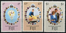 Fiji 1981 SG#612-4 Royal Wedding MNH Set #R105