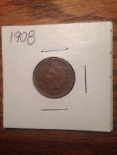 INDIAN CENT VERY HIGH GRADE 1908 PENNY