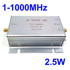 1-1000MHz 2.5W RF Power Amplifier For HF FM Transmitter VHF UHF RF ham radio