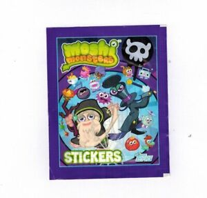 Moshi Monsters Lot 40 Packs Stickers Topps