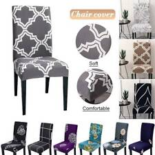 Stretch Spandex Chair Cover Seat Slipcover for Dining Wedding Banquet Home Decor