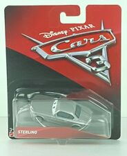 Disney Pixar Cars 3 Sterling Die Cast Car NEW Mattel 2017 Ships In A Box O2
