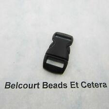 25 - 28mm Plastic Buckles Contoured Curved for ParaCord Bracelet
