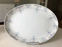 Imperial China 5303 Seville Designed by W Dalton Large Oval Serving Dish Japan