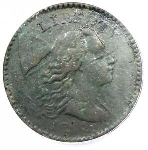 1794 Liberty Cap Large Cent 1C Coin - Certified ANACS VF20 Details - Rare Coin!