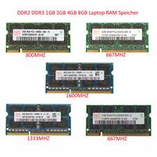 Für Hynix 2GB 4GB 8GB 200Pin 204pin DDR2 DDR3 RAM Speicher Laptop SO-DIMM 2Rx8