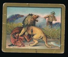 1910 T57 Turkish Trophies FABLE SERIES (1-50) -The Herdsman & The Bull (Fac 30)