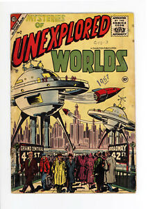 MYSTERIES OF UNEXPLORED WORLDS #2 GD  - RARE ISSUE - Jan, 1957