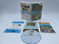 Animal Crossing: City Folk (Nintendo Wii, 2008) Complete & Tested
