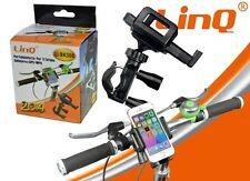 SUPPORTO BICI MOTO BICICLETTA MANUBRIO UNIVERSALE IPHONE 3 4 5 6 LG G2 G3 L5