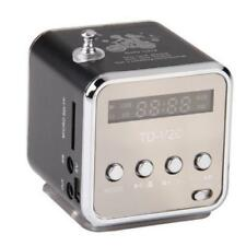 Mini Portable Micro SD TF USB Stereo Bass Speaker Music Player FM Radio PC MP3/4