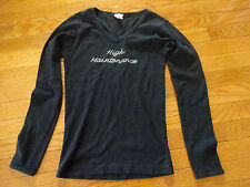 Woman's Black Sparkle Plenty Top Sz. M