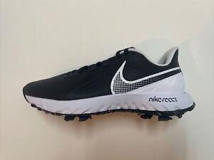Nike React Infinity Pro Golf Shoes Black White Men's 8 | Women's 9.5 CT6620-003