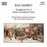 . Balakirev - Balakirev: Symphony No. 2 / Russia (Symphonic Poem) [CD]