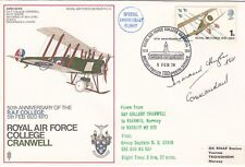 SC8 RAF Cranwell Air Vice Marshal F D Hughes 264 Sqn Battle of Britain pilot Ace