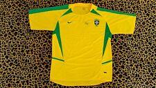 BRAZIL World Cup 2002 PELE HAND SIGNED NIKE JERSEY COA