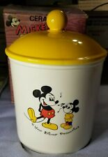 Vintage Mickey Mouse Lollipop Cookie Jar Dan Brechner New In Box