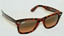 Ray-Ban RB2140 1275A5 50 Wayfarer Red Havana / Brown Gradient Lens. New