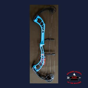 PSE Madness SMU Limited Edition Target Compound Bow RH Light Blue 50lb
