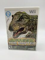 Jurassic The Hunted (Nintendo Wii, 2009)with Manual Tested Working
