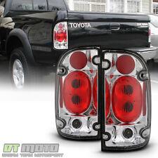 For 1995-2000 Toyota Tacoma Prerunner SR5 Pickup Chrome Tail Lights Brake Lamps