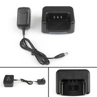1Set Desktop Battery Charger For TYT MD-380 Two Way Radio USA Plug T2