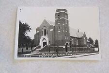 a290 Vintage postcard Concordia Lutheren Church Fertile Minnesota Minn MN