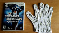 Michael Jackson: The Experience - Special Edition (Nintendo Wii) w/Glove