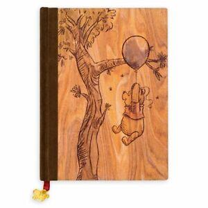 Disney's Winnie the Pooh 55th Anniversary Faux Wood Journal, NEW