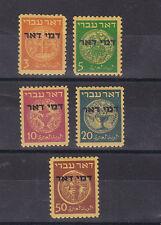 1948 Sc J1/5 set,p.due stamps,optd    f1152