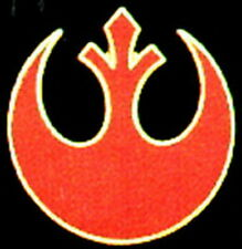 "Star Wars Rebel Alliance Small 3/4"" Metal Pin- Red- Free S&H (Swpi-17)"