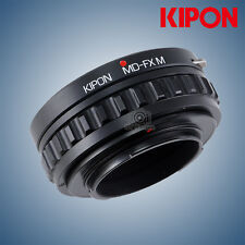 New Kipon macro helicoid adapter for Minolta MD lens to X-Pro2 X-T2 Fujifilm