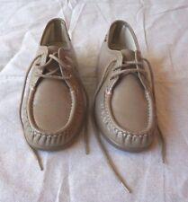 SAS Siesta Shoes Women's Oxfords Mocha Leather Handsewn Moccasin Toe Sz 7 1/2 W