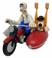Vintage Wallace & Gromit A Close Shave Red Motorbike Toothbrush Holder with Tag