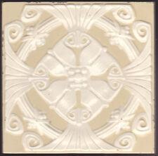 Original ca1900 German jugendstil Villeroy & Boch Art Nouveau Majolica tile I
