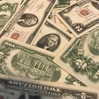 1928-1963 Two Dollar Note Red Seal $2 Bill G-AUOld Paper Estate Lot Currency