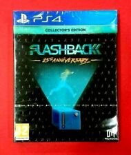 Flashback 25th Anniversary-Collector 's Edition - PLAYSTATION 4 - PS4 - NUEVO
