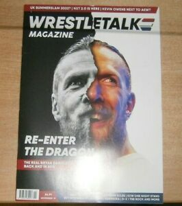 Wrestletalk magazine Nov '21 The Real Bryan Danielson is back and in AEW